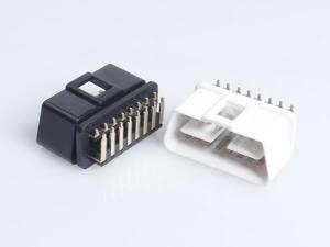90 Degree Pin OBD Male Connector Shell
